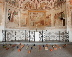 Graziella Reggio, installazioni / installations - Legni, 2011
