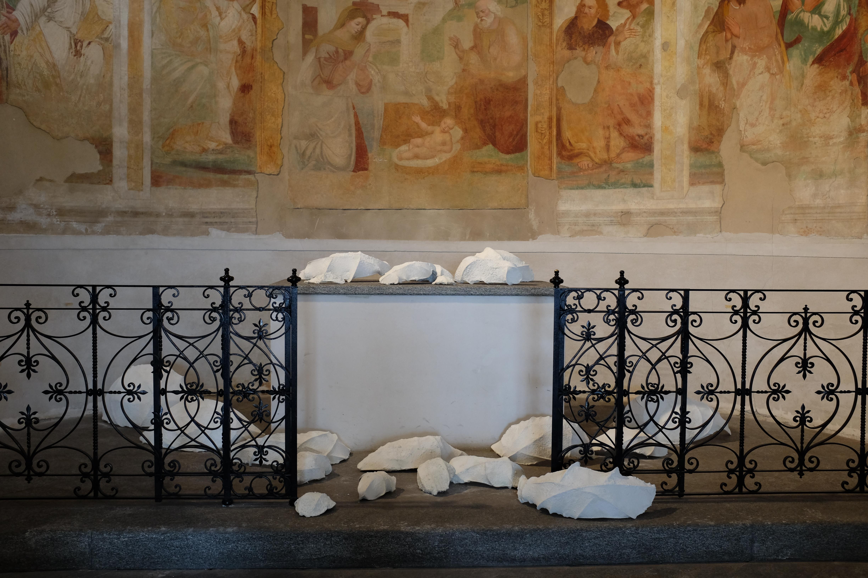 Graziella Reggio, installazioni / installations - Residui, 2018