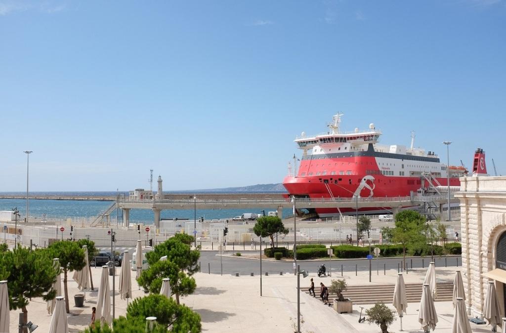 Graziella Reggio - harbors - Marseille 2019