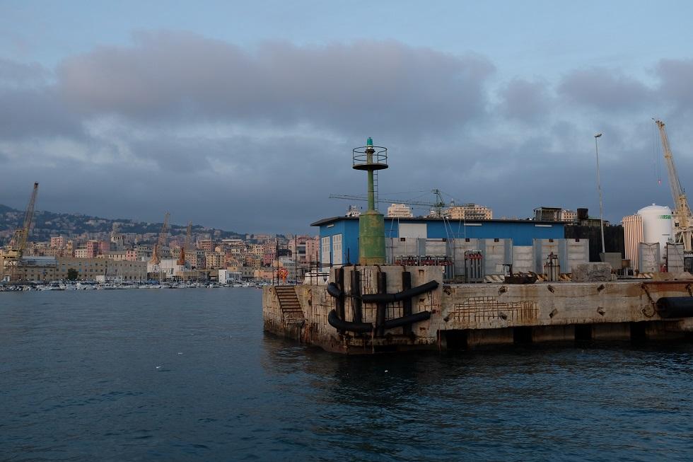 Graziella Reggio - harbors - Genova 2019
